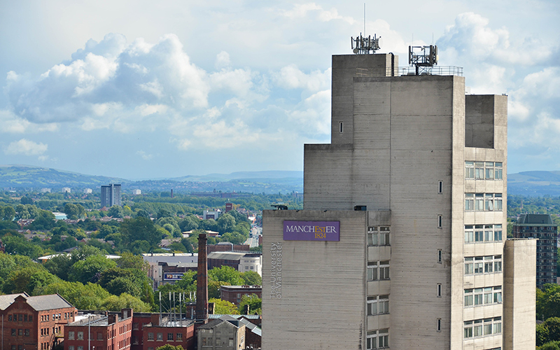 The MSS Tower as seen from the roof of the Sackville Street Building